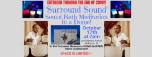 Surround Sounds: Sound Bath Meditation in a Dome @ Foosaner Art Museum | Melbourne | FL | United States
