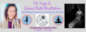 Yin Yoga & Sound Bath Workshop @ Luna Sol Yoga | Sebastian | FL | United States