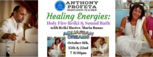 HOLY FIRE Experience 1: Reiki & Sound Healing @ Aquarian Dreams | Indialantic | FL | United States