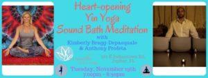 Heart-Opening Yin Yoga Sound Bath Meditation @ Breathe Salt & Yoga | Jupiter | FL | United States