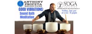 GOOD Vibrations: Sound Bath Meditation @ The Yoga Lounge | New Smyrna Beach | FL | United States