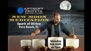 New Moon SOUND BATH Meditation @ Spark of Divine, LLC | Vero Beach | FL | United States