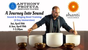 Journey Into Sound: Singing Bowl Training @ Shanti Yoga Shala   Palm Beach Gardens   FL   United States