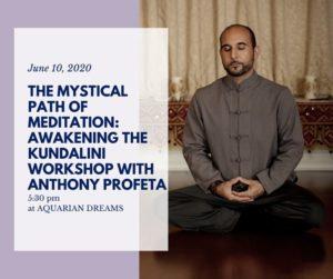 The Mystical Path of Meditation: Awakening the Kundalini @ Aquarian Dreams   Indialantic   FL   United States