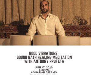 Good Vibrations: Sound Bath Healing Meditation @ Aquarian Dreams   Indialantic   FL   United States