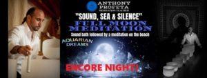 Sound, Sea & Silence: Full Moon Meditation @ Aquarian Dreams   Indialantic   FL   United States