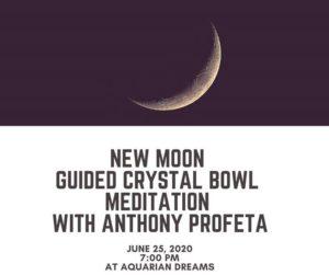 New Moon Guided Meditation with Anthony Profeta @ Aquarian Dreams   Indialantic   FL   United States