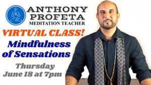 VIRTUAL CLASS - Mindfulness of Body Sensations @ Aquarian Dreams   Indialantic   FL   United States