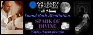 Full Moon SOUND BATH Meditation @ Spark of Divine, LLC | Vero Beach | FL | United States