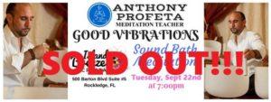 (SOLD OUT) GOOD VIBRATIONS: Sound Bath Meditation @ Island Breeze Crystals   Rockledge   FL   United States