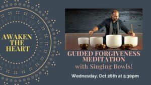 FORGIVENESS Meditation with Singing Bowls @ Aquarian Dreams | Indialantic | FL | United States