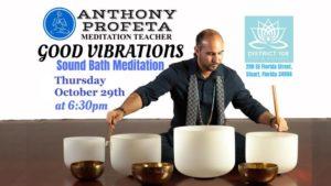 GOOD VIBRATIONS: Sound Bath Meditation @ District 108 Yoga & Wellness | Stuart | FL | United States