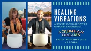 Healing Vibrations: A Sound Bath Meditation Concert Experience @ Aquarian Dreams | Indialantic | FL | United States