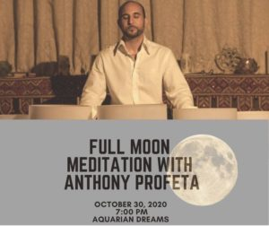 Full Moon Ocean (Crystal Bowl) Meditation with Anthony Profeta @ Aquarian Dreams | Indialantic | FL | United States