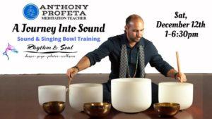 Journey Into Sound: Singing Bowl Training @ Rhythm & Soul | Vero Beach | FL | United States