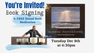 Book Signing & Free Sound Bath Meditation @ Aquarian Dreams | Indialantic | FL | United States