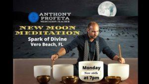 New Moon Sound Bath Meditation @ Spark of Divine, LLC | Vero Beach | FL | United States