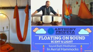 January - Floating On Sound: Aerial Hammock Sound Bath @ Blissful.Energy LLC | West Melbourne | FL | United States
